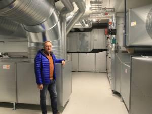 VCA ventilasjonsanlegg kjeller Espen Egset